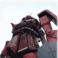 シャア専用ザク(HGUC 1/144 MS-06S)