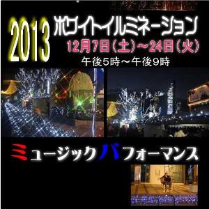 2013ホワイトイルミネーション
